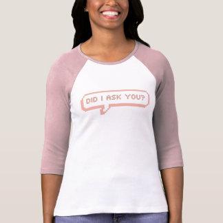 Sassy Speech Bubble T-Shirt