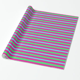 Sassy stripes wrapping paper