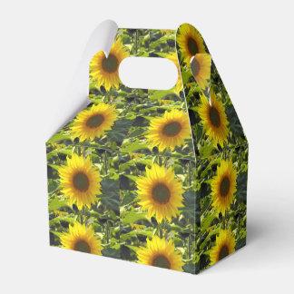Sassy Sunflowers Favour Box