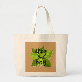 Sassy Thanksgiving Large Tote Bag
