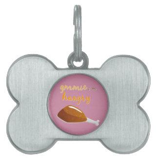 Sassy Thanksgiving Pet ID Tag