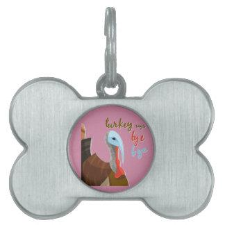 Sassy Thanksgiving Pet Tag