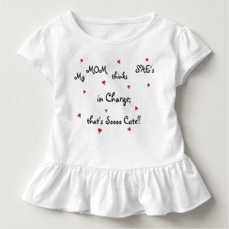 Sassy Toddler/Baby Ruffle Tee