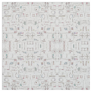 Sassy-Whimsical Pattern Print Fabric