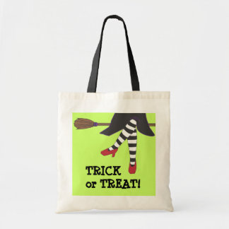 Sassy Witch Halloween Trick or Treat Bag