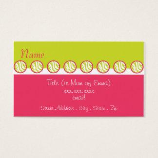 Sassy Zebra Mommy Card
