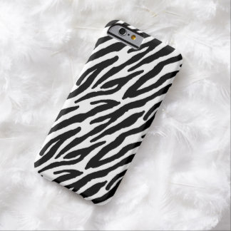 Sassy Zebra Print Barely There iPhone 6 Case
