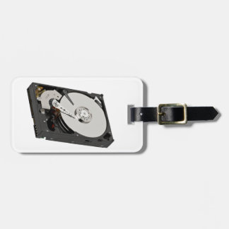 SATA Hard Drive Luggage Tag