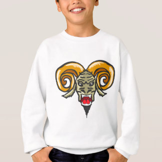 Satan Horned Beast Sketch Sweatshirt
