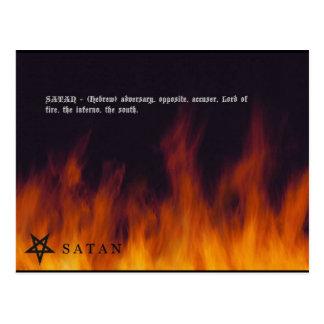 SATAN POSTCARD