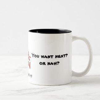 Satan tried me. You want next? Or nah? - Mug
