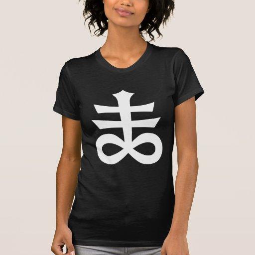 Satanic Cross Occult Black Magick & Satanism Tee Shirt