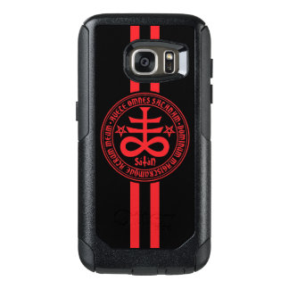 Satanic Cross with Latin Text OtterBox Samsung Galaxy S7 Case