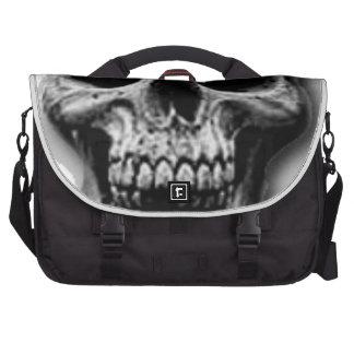 Satanic Evil Skull Design Commuter Bags