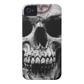 Satanic Evil Skull Design iPhone 4 Cover