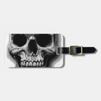 Satanic Evil Skull Design Luggage Tag