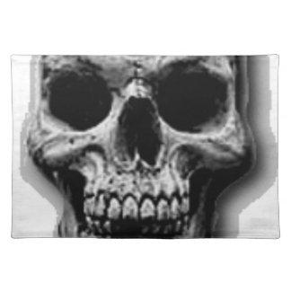 Satanic Evil Skull Design Placemat