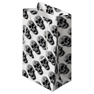 Satanic Evil Skull Design Small Gift Bag