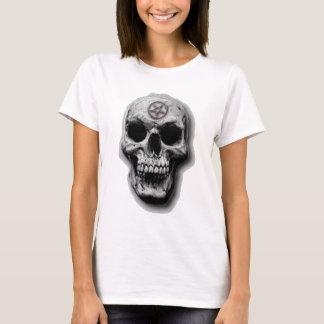 Satanic Evil Skull Design T-Shirt