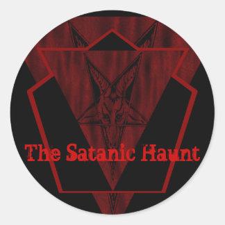 Satanic Haunt Sticker Set