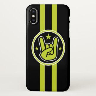 Satanic Horns Sign Salute iPhone X Case