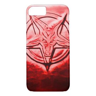 Satanic Seal Art Nouveau iPhone 7 Case