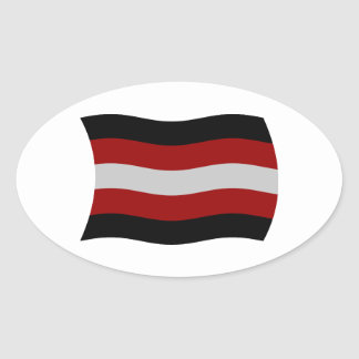 Satanism Flag Sticker