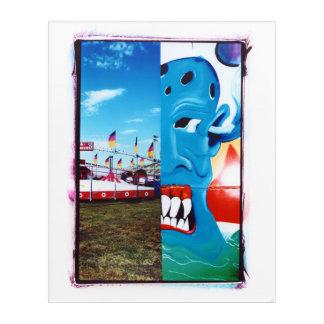 Sate Fair Two-Face Acrylic Wall Art