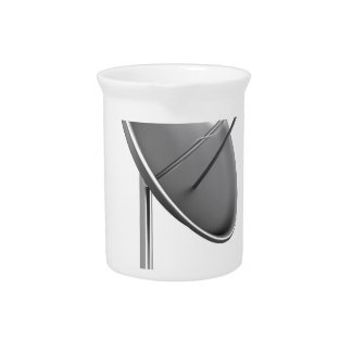 Satelite dish pitcher