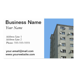 Satellite dishes business card