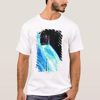 Satellite Orbiting Earth 3 T-Shirt