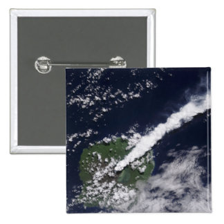 Satellite view of a thick steam-rich plume buttons