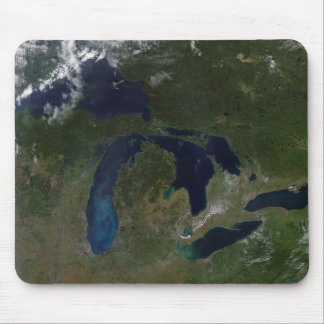 Satellite view of The Great Lakes Mouse Pad