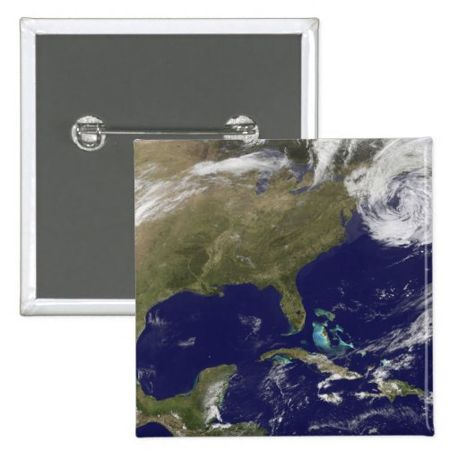 Satellite view of the United States East Coast Pins
