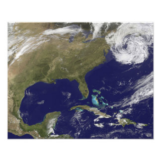 Satellite view of the United States East Coast Art Photo