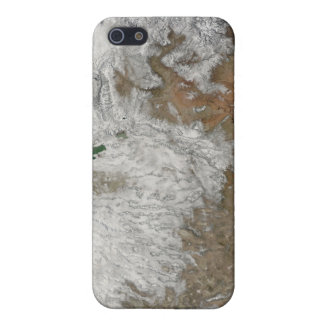 Satellite view of the western United States iPhone 5/5S Case