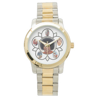 Sathya Sai Baba Gold and Silver Tone Watch