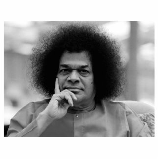 Sathya Sai Baba Photo Sculpture