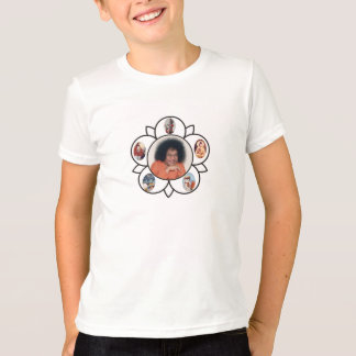 Sathya Sai Baba Sarva Dharma Symbo on T-Shirt Kids