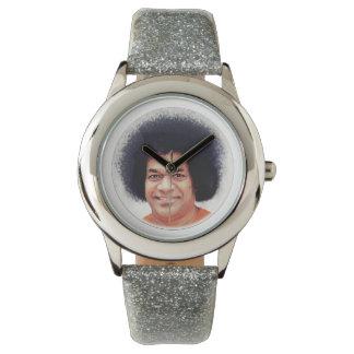 Sathya Sai Baba stainless steel watch