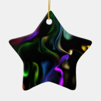 Satin Electric Ceramic Ornament