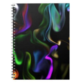 Satin Electric Notebooks