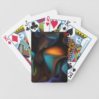 Satin Glow high end abstract Bicycle Playing Cards