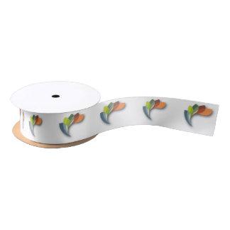 Satin Ribbon - Multicolored Logo