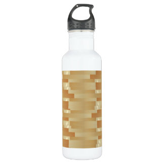Satin Silk Golden Strips - Shadow Art101 710 Ml Water Bottle