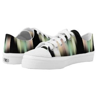 Satin Streaks Printed Shoes