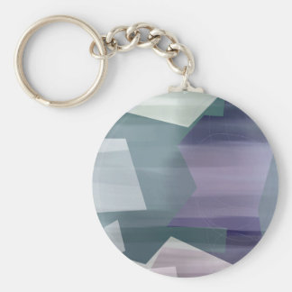 Satin Symmetry Key Ring