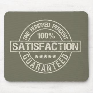 SATISFACTION GUARANTEED custom mousepad