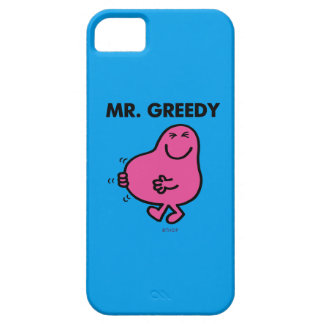 Satisfied Mr. Greedy Barely There iPhone 5 Case