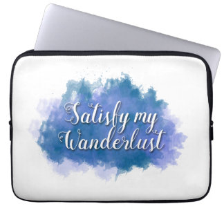 "Satisfy My Wanderlust 13"" Laptop Case"